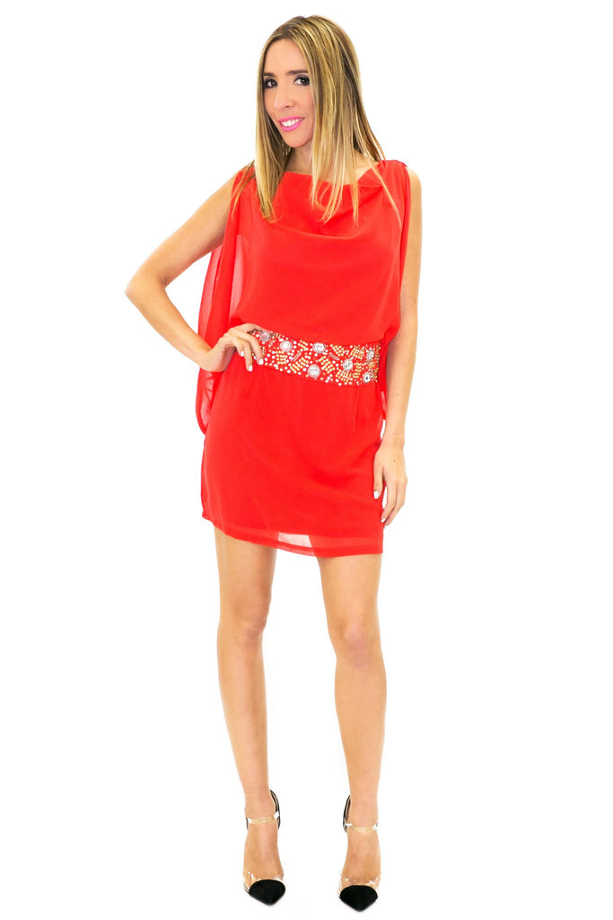 ISABELLA EMBELLISHED DRESS - Haute & Rebellious