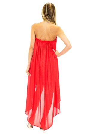 PENELOPE SPARKLE HIGH-LOW DRESS - Haute & Rebellious