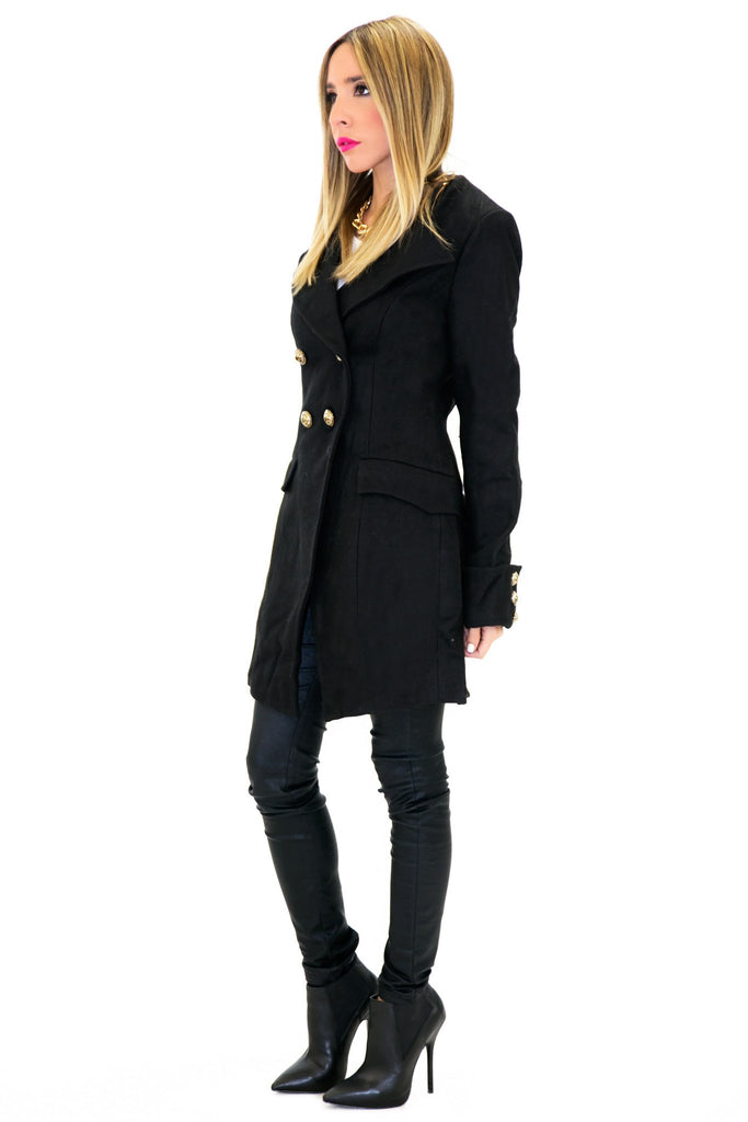 BRENON WOOL COAT