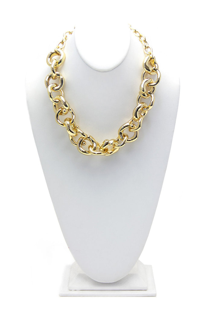 FERN CHAIN LINK NECKLACE - Haute & Rebellious