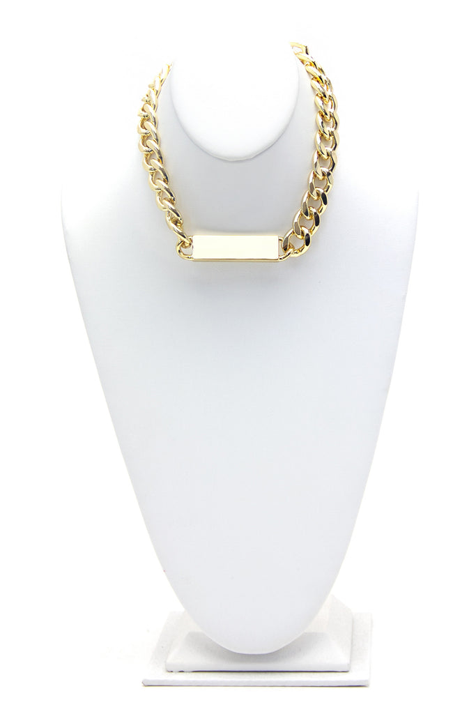 VIN ID CHAIN NECKLACE