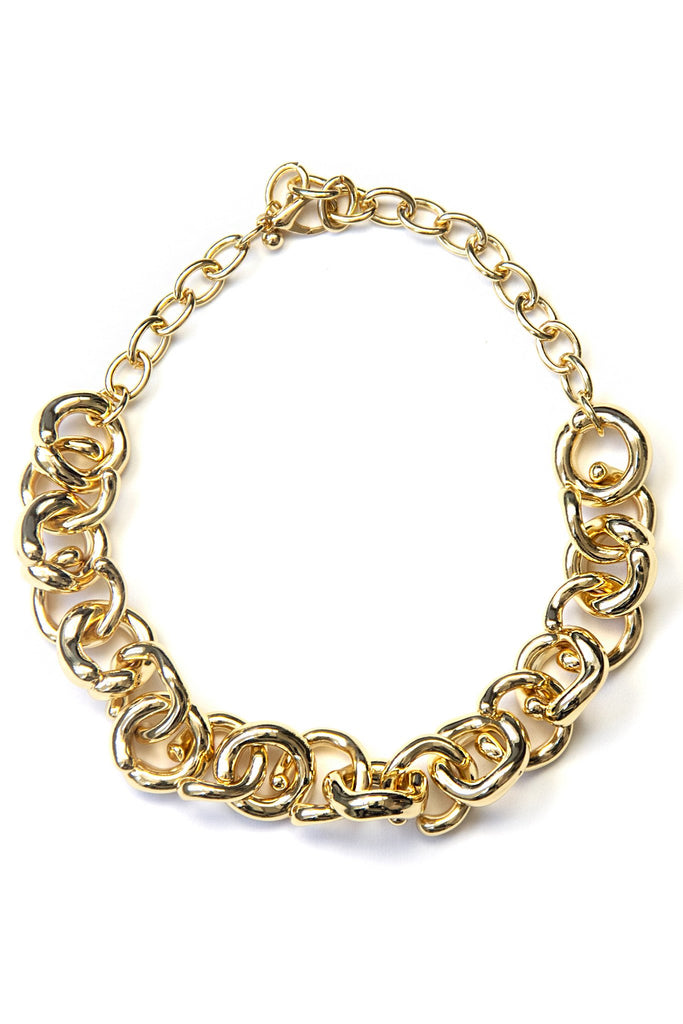 FERN CHAIN LINK NECKLACE