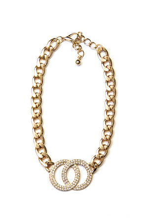 Cross Your O's Necklace - Haute & Rebellious