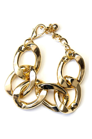 CHAIN BRACELET - Gold - Haute & Rebellious