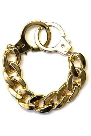CUFFS CHAIN BRACELET - Haute & Rebellious