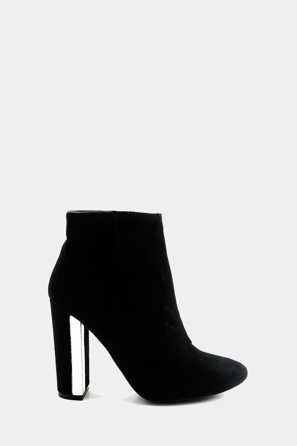 Kyra Suede Bootie Heel /// Only Size 6.5, 7, 9, 10 Left ///