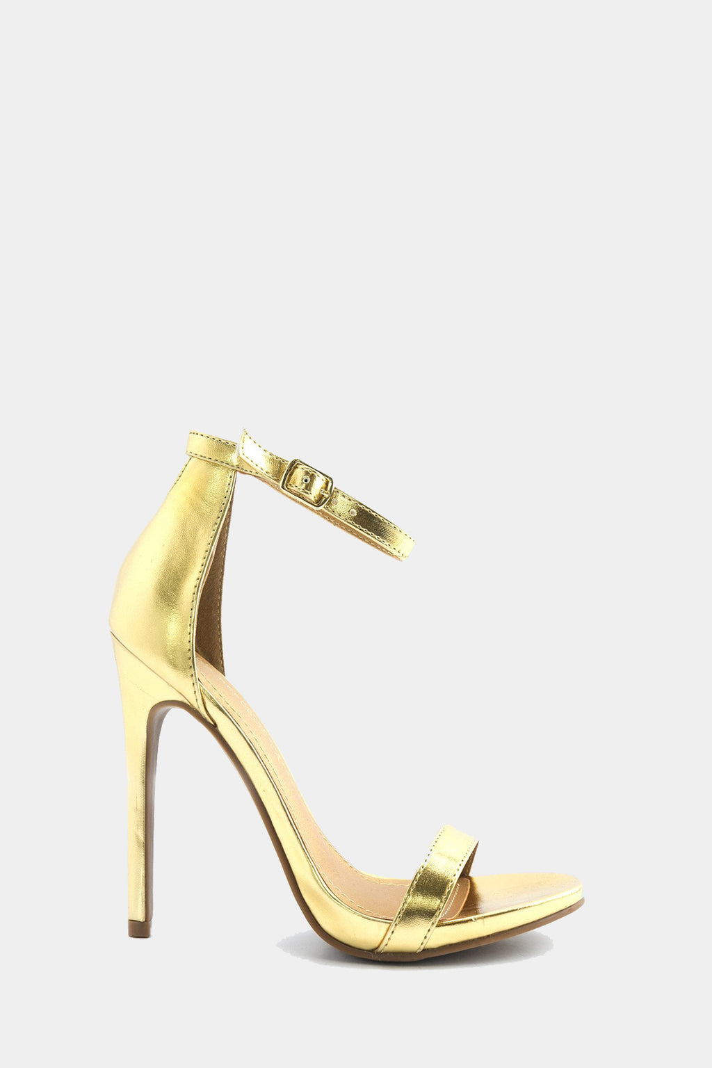 Celine Ankle Strap Heel - Gold /// Only Size 6 Left ///