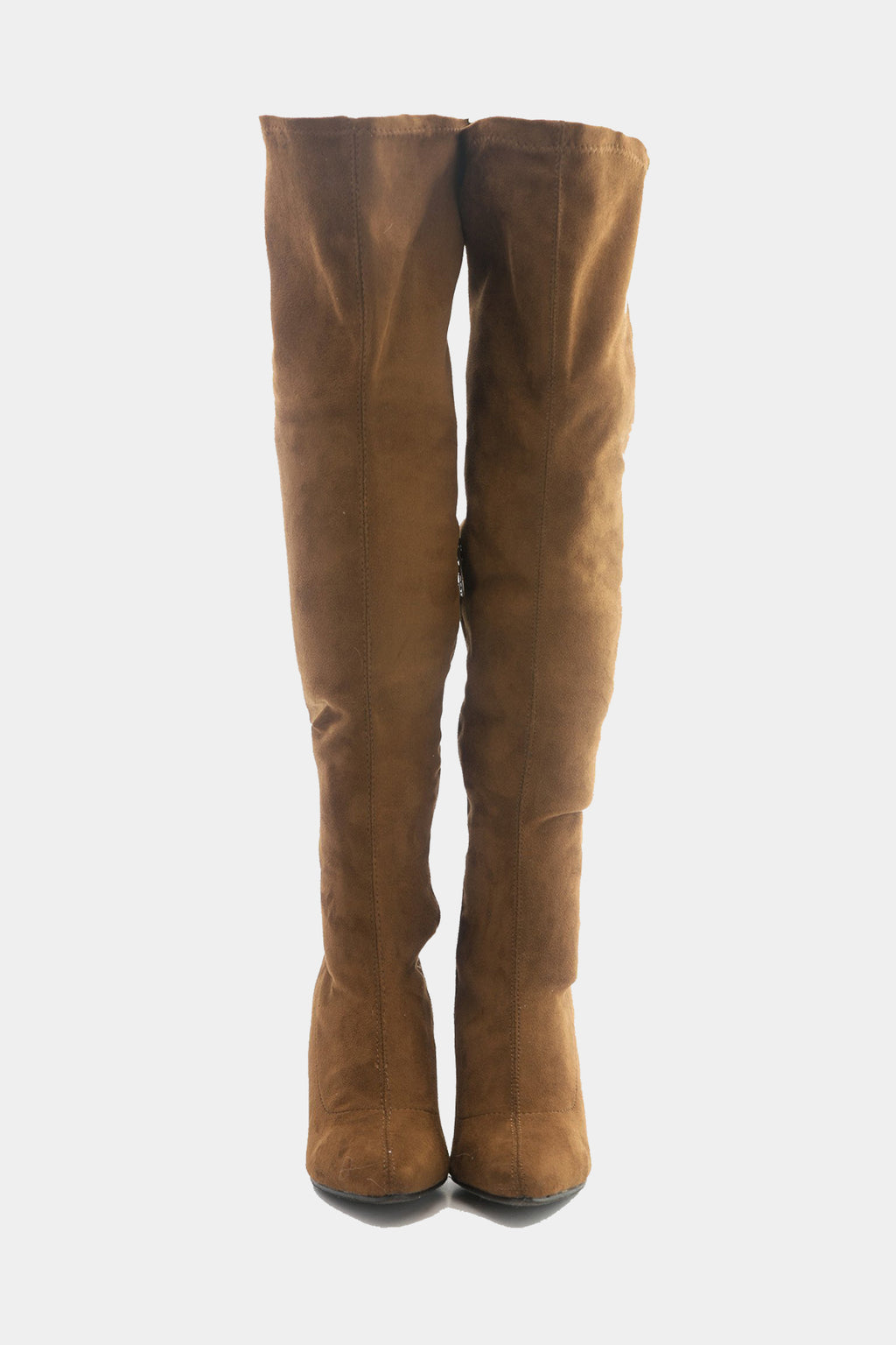 Cari Knee High Boots - Brown