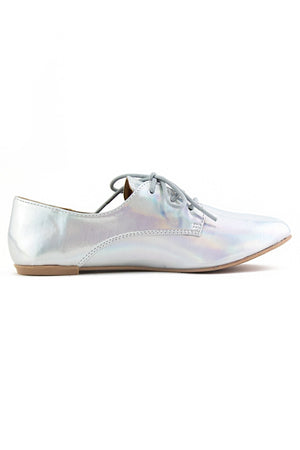 FLAT METALLIC SHOE - Haute & Rebellious