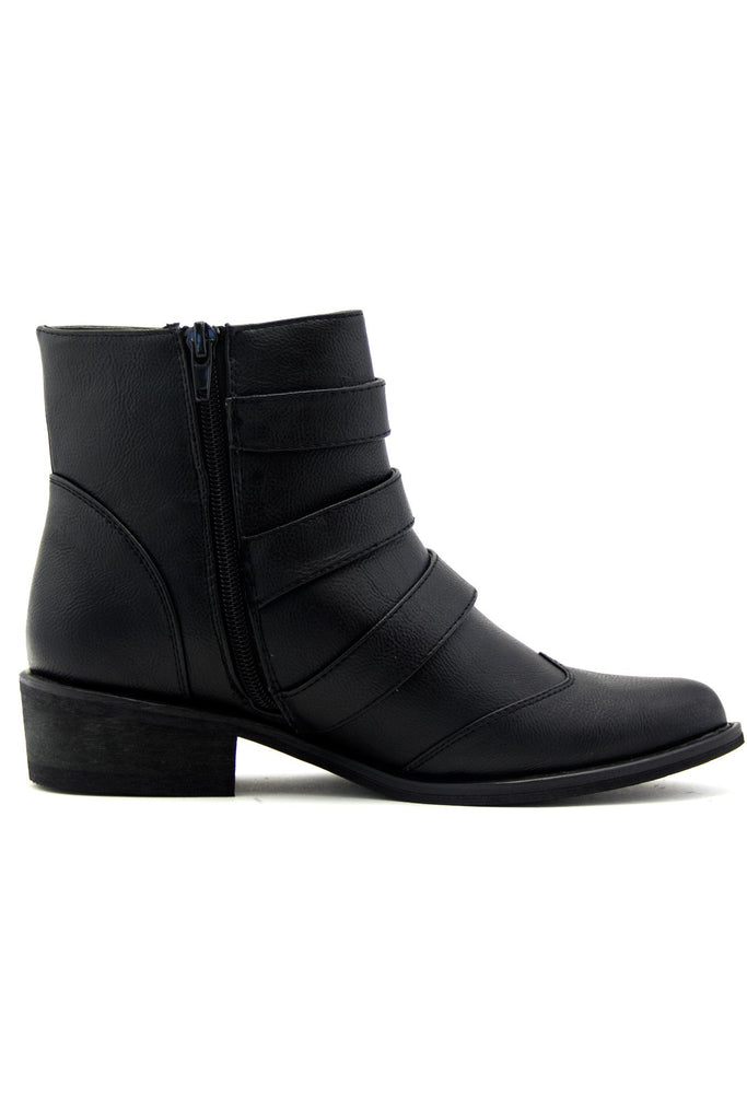 ELLIOT THREE BUCKLE BOOTIE