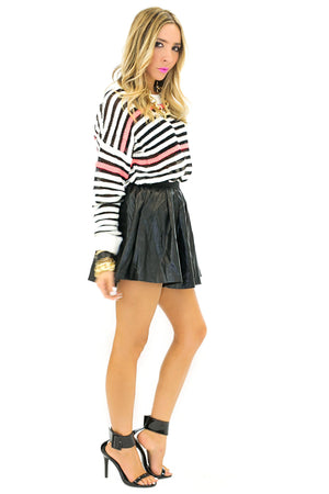 LEM HAUTE STRIPE SWEATER - Haute & Rebellious