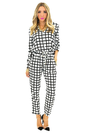 BEN CHECKERED PANT - Haute & Rebellious