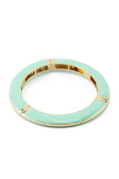 COLORED GEL BANGLE - Mint