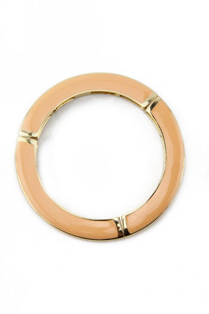 COLORED GEL BANGLE - Peach - Haute & Rebellious