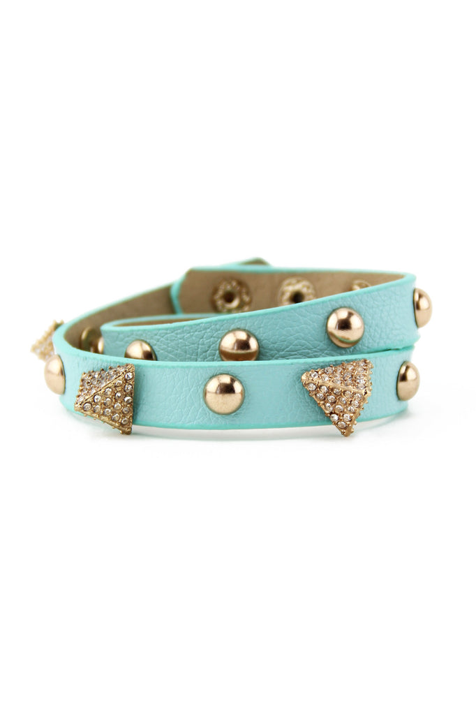 PYRAMID & STUDS BAND - Mint