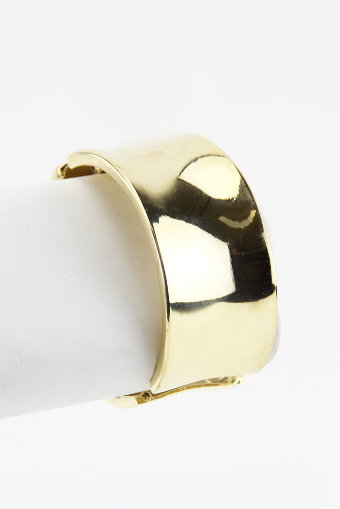 SOLID GOLD CUFF - Gold