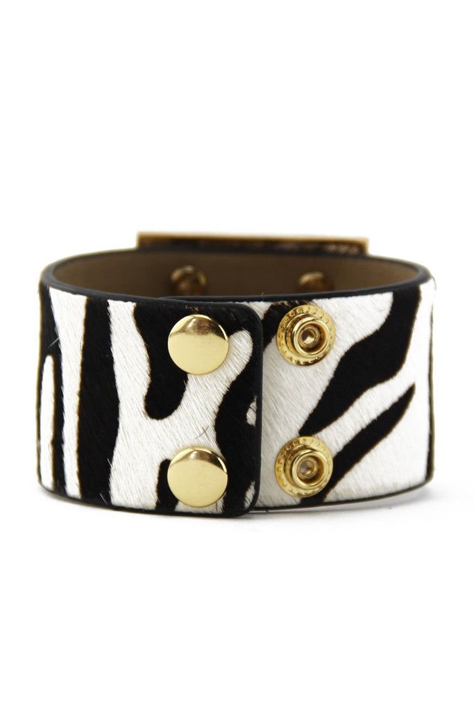 LION PLATED ZEBRA BAND