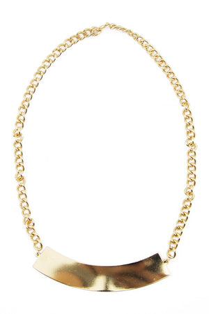GOLD PLATED ARCH NECKLACE - Haute & Rebellious
