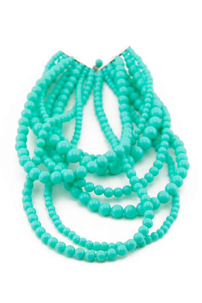 AQUA PEARL NECKLACE - Haute & Rebellious