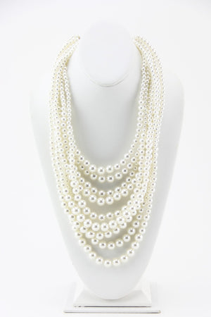 AUDREY PEARL NECKLACE - Haute & Rebellious
