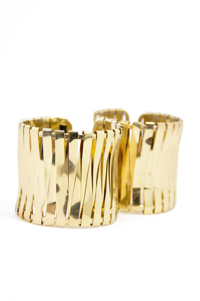 TWIN GOLD CUFFS
