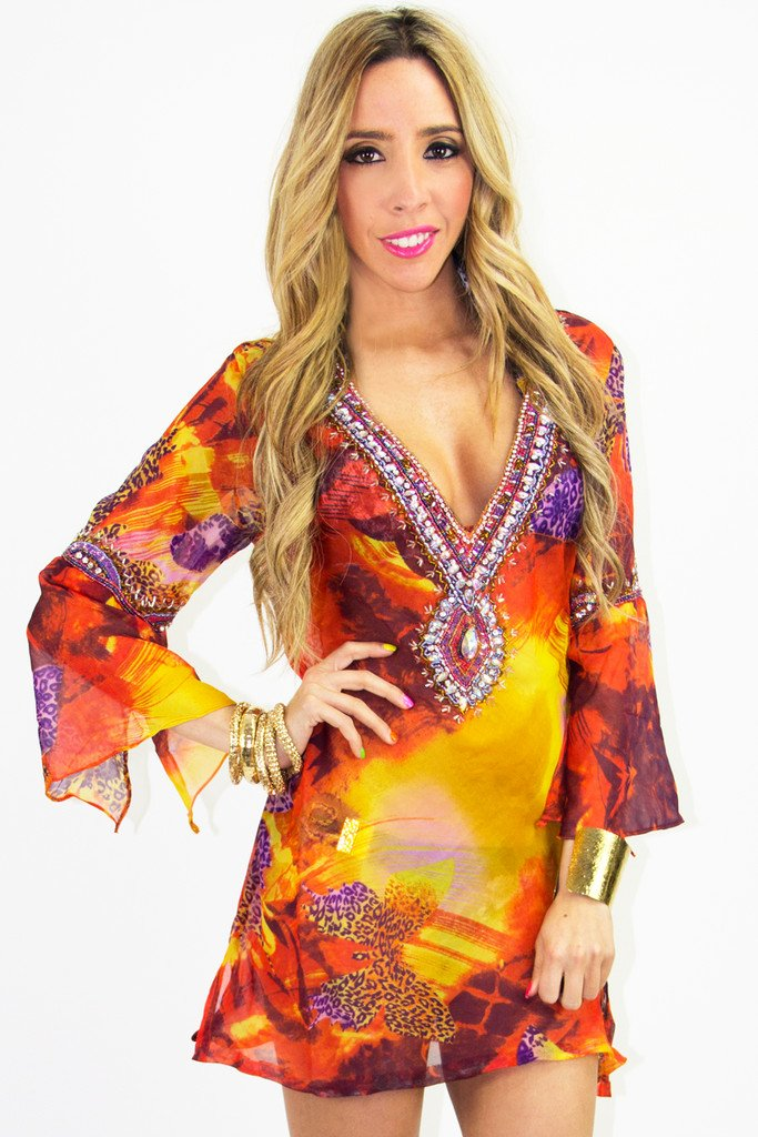 FIONA BEACH COVER-UP - Haute & Rebellious