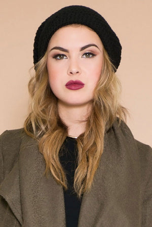 Roughe Knit Beanie - Haute & Rebellious
