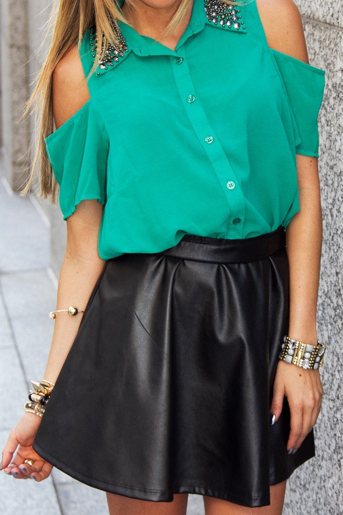 FULL A LINED SKIRT - Black (Final Sale)