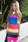 RILEY RAINBOW DRESS