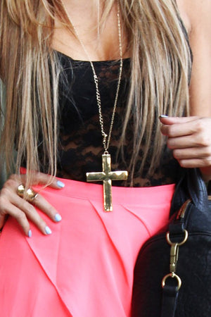 DE LA CRUZ NECKLACE - Gold - Haute & Rebellious