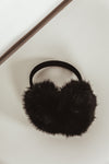 Collapsible Faux Fur Earmuffs