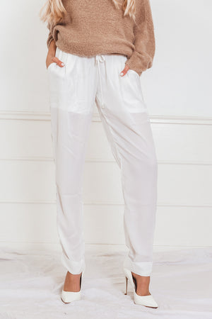 Lightweight Pant - White