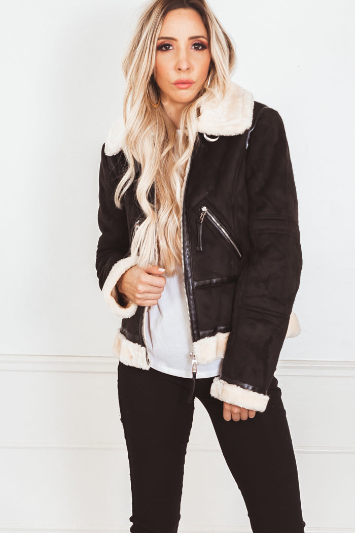 Aviator Shearling Jacket