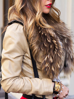FUR SCARF - Haute & Rebellious