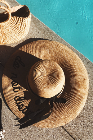 Do Not Disturb Beach Hat - Haute & Rebellious