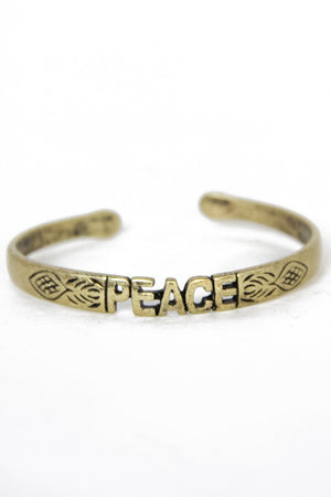 PEACE CUFF - Haute & Rebellious