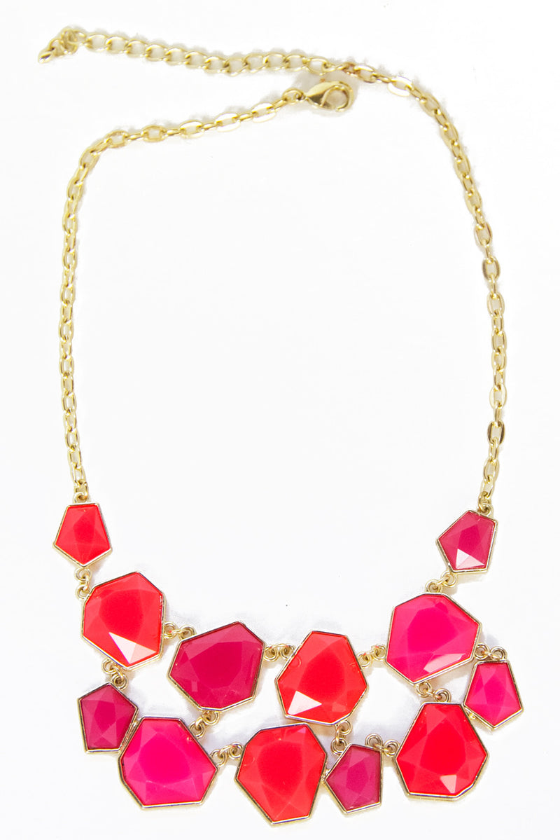RUBY RED NECKLACE - Haute & Rebellious