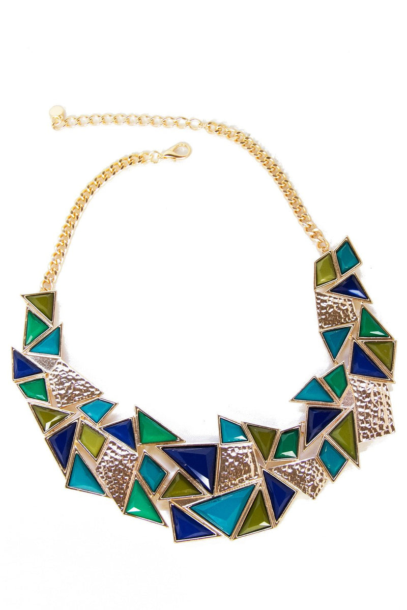 BLUE SHADES NECKLACE - Haute & Rebellious