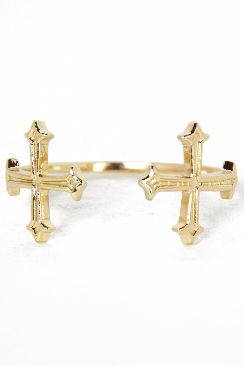 DOUBLE CROSS CUFF - Haute & Rebellious
