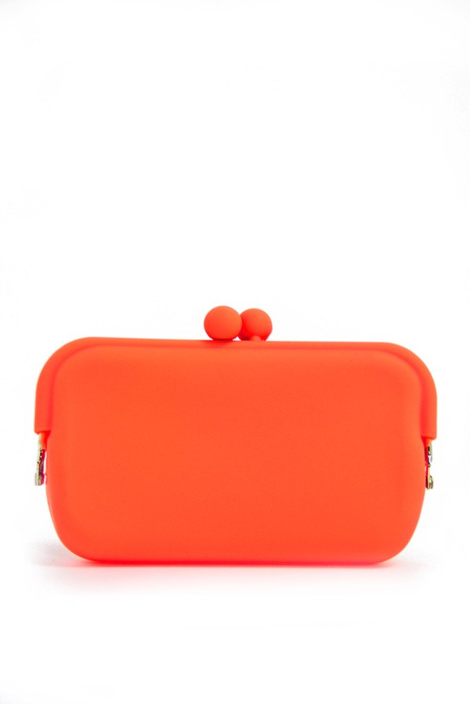 NEON PETITE CLUTCH - Orange - Haute & Rebellious
