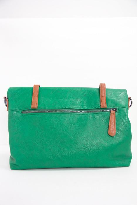 NEWMAN MESSENGER BAG - Green