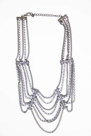 CRYSTALS WIDOW NECKLACE - Haute & Rebellious