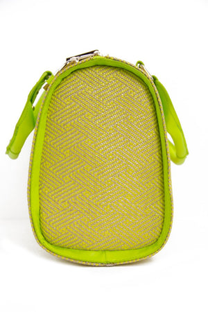 LEMON GRASS WOVEN TOTE - Haute & Rebellious