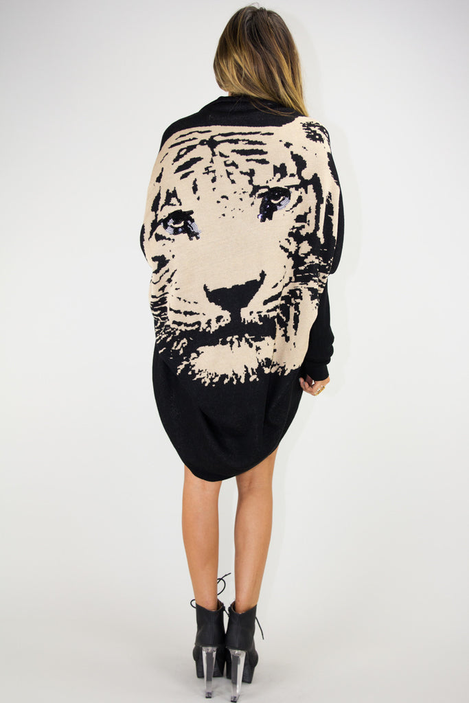 TIGER COCOON SWEATER