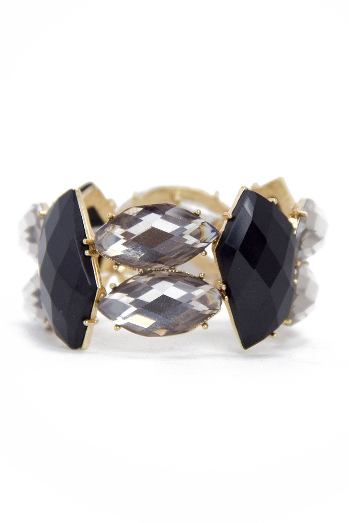 MULTI CRYSTAL STONE BRACELET (Final Sale) - Haute & Rebellious