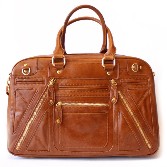 CHLOE TRAVEL BAG - Camel