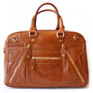 CHLOE TRAVEL BAG - Camel - Haute & Rebellious