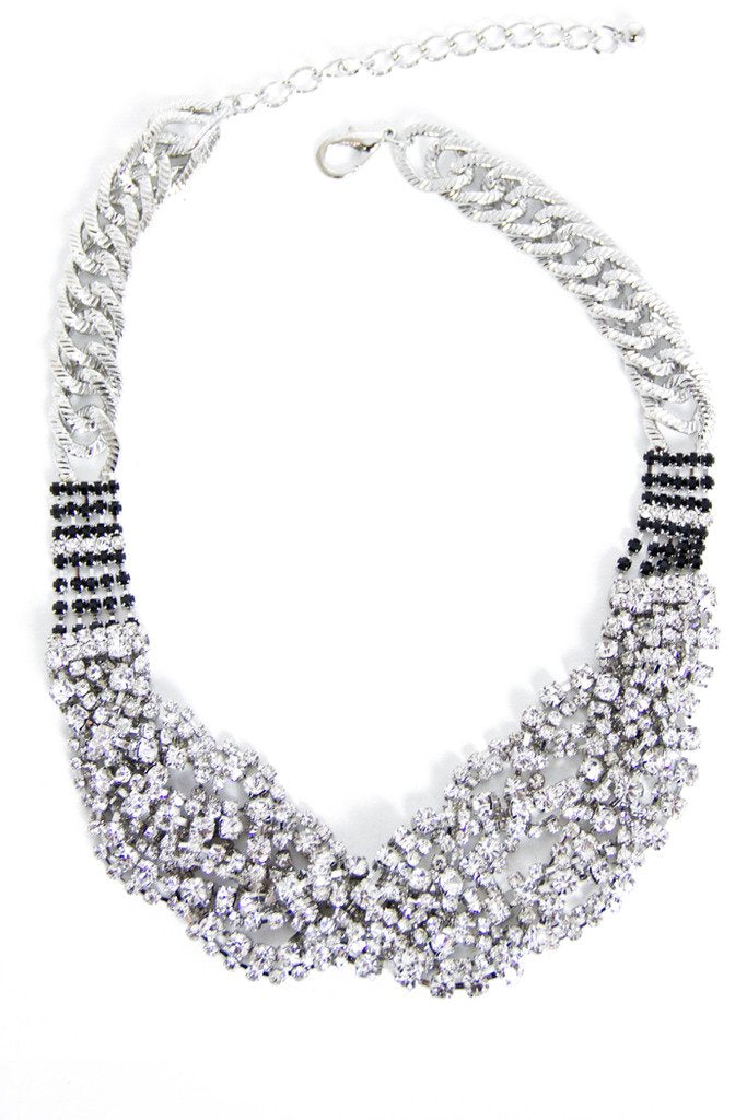 EMMA CRYSTAL NECKLACE - Haute & Rebellious