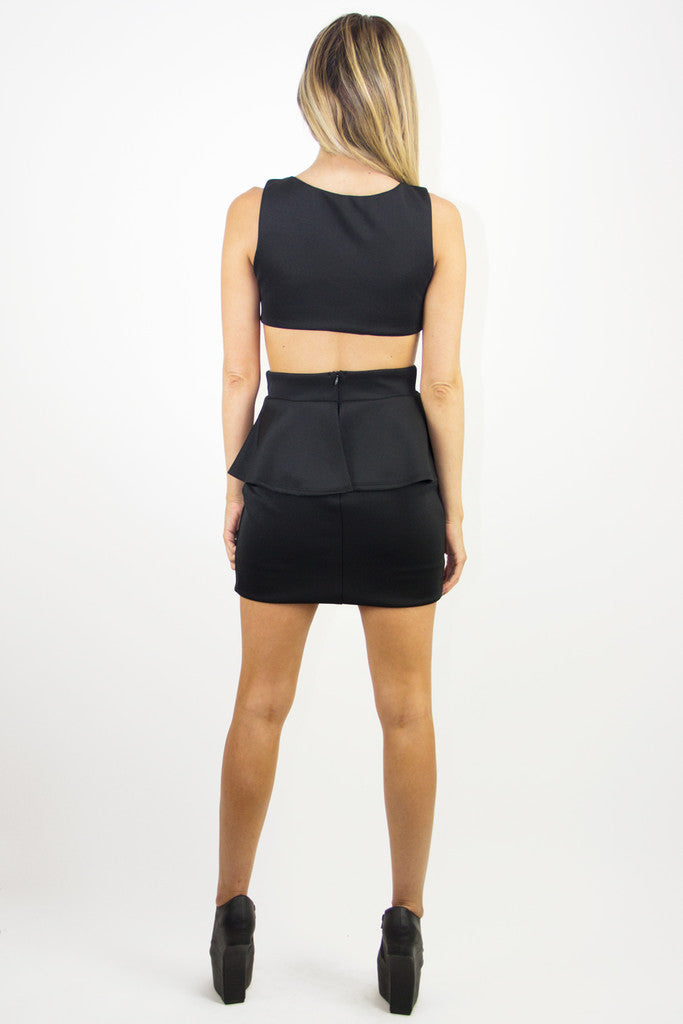 VERA CUTOUT DRESS