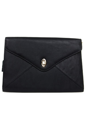 OVERSIZED CLUTCH - Black - Haute & Rebellious
